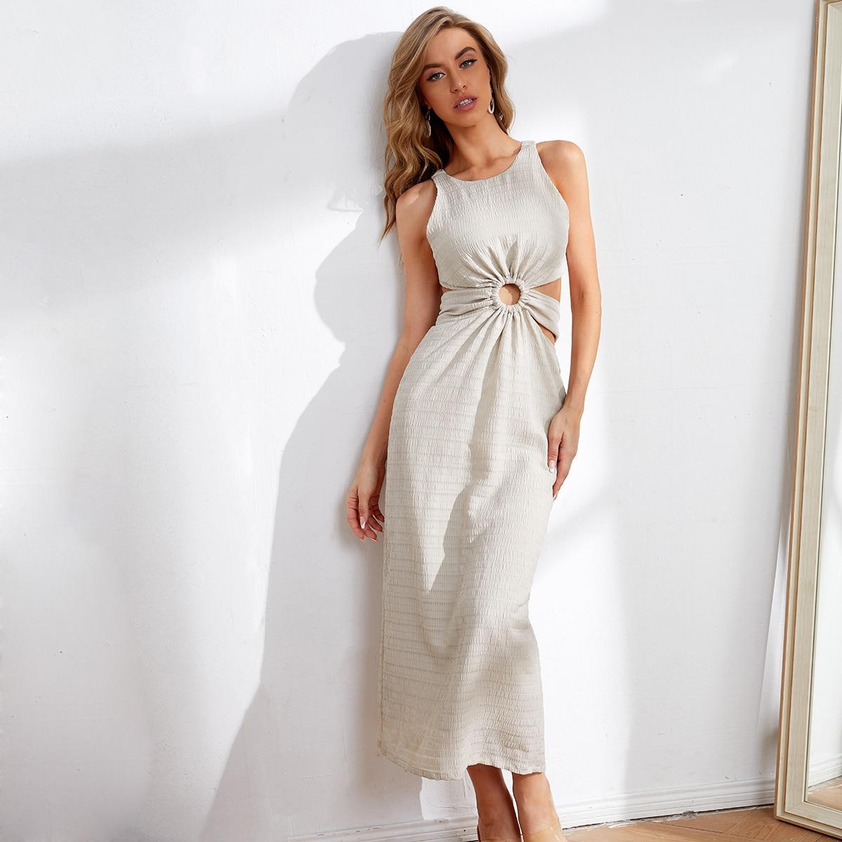 Платье с вырезом на спине SheIn swdress07210309040