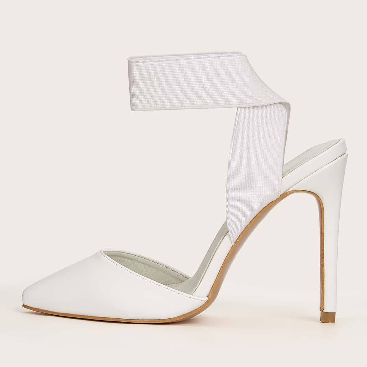 Point Toe Stiletto Heels