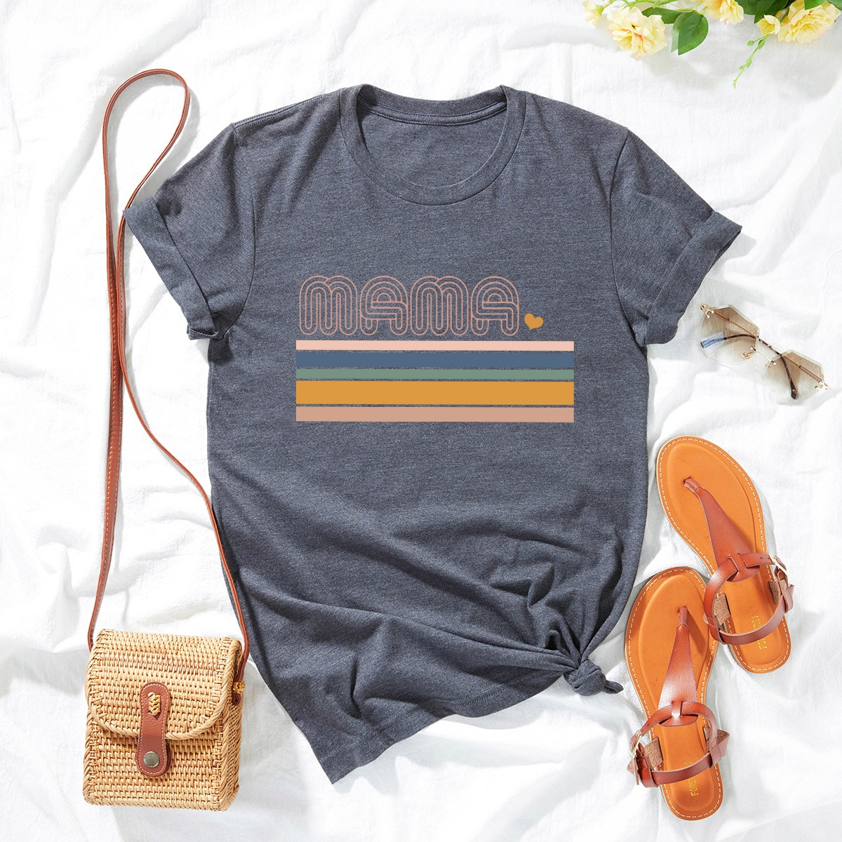 Plus Letter Graphic Tee, SHEIN  - buy with discount