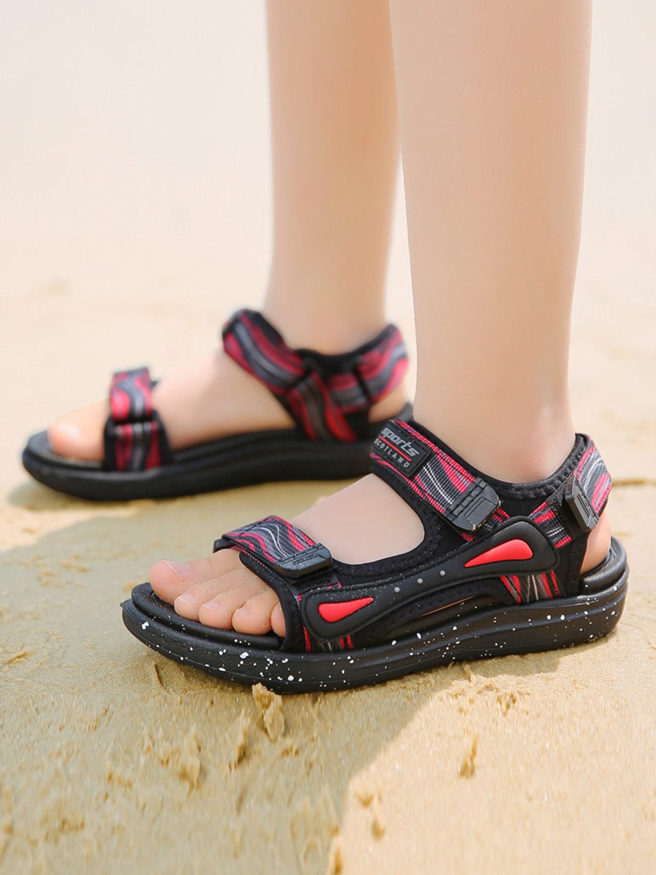Boys Velcro Strap Sport Sandals