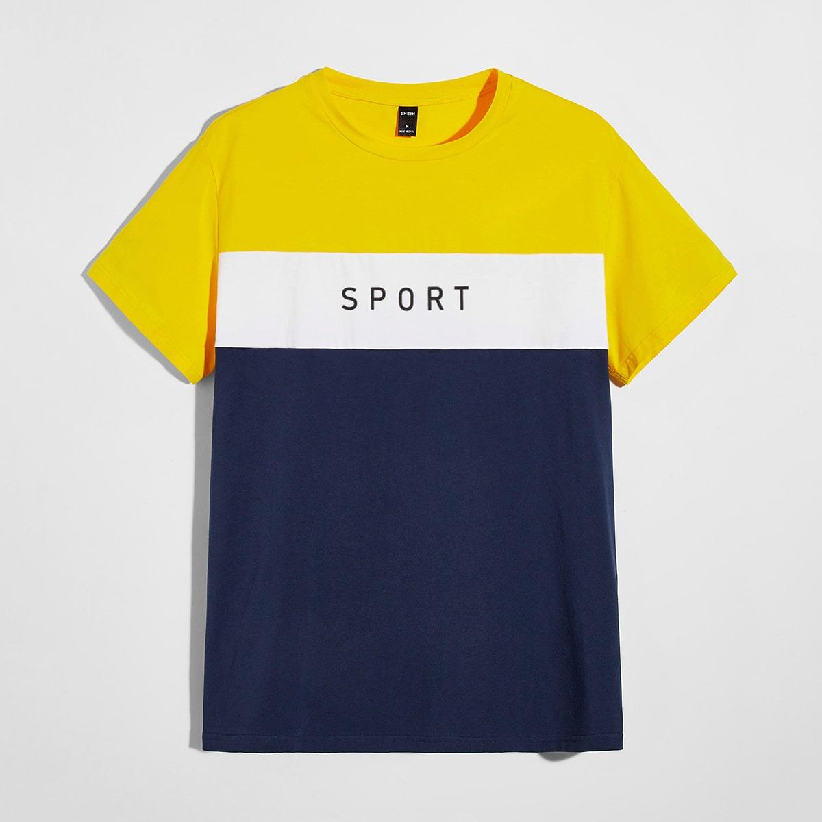буква Институтский Мужские футболки
