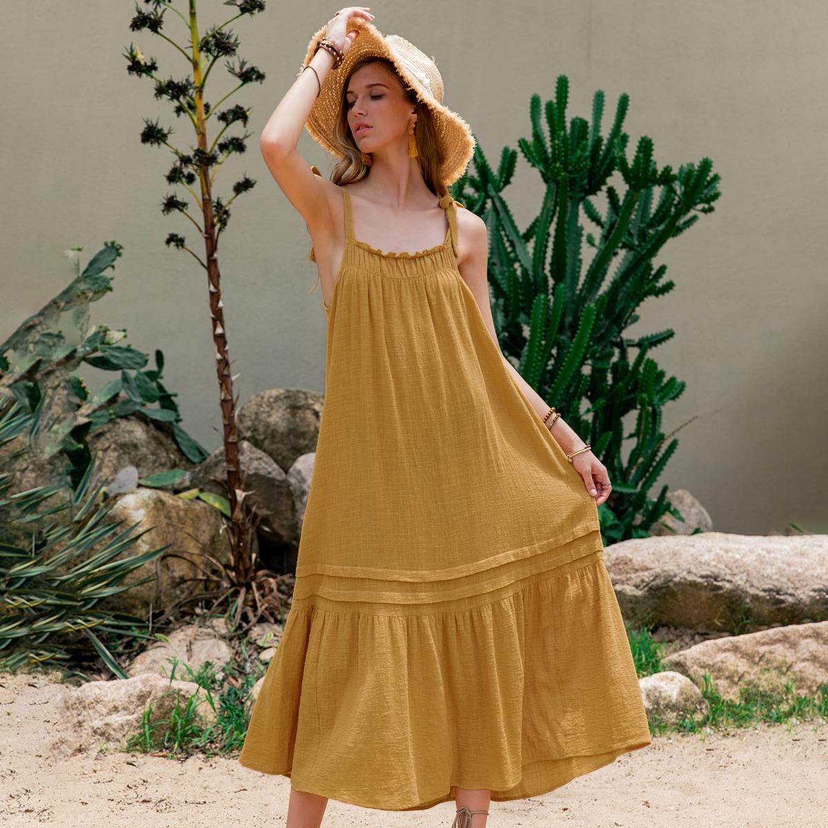Платье на бретелях SheIn swdress31210520718