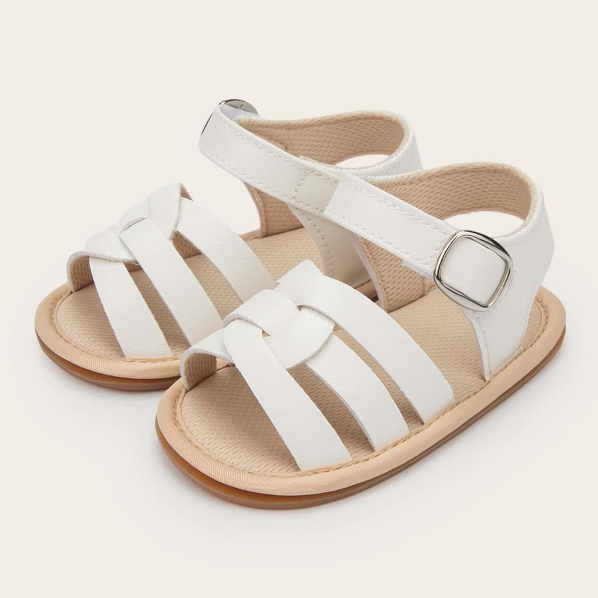 Плетеные сандалии для девочек SheIn skshoes25210521922