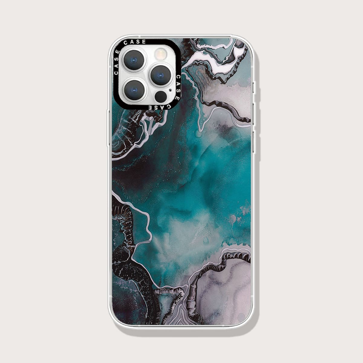 Abstract Fluid Pattern Phone Case