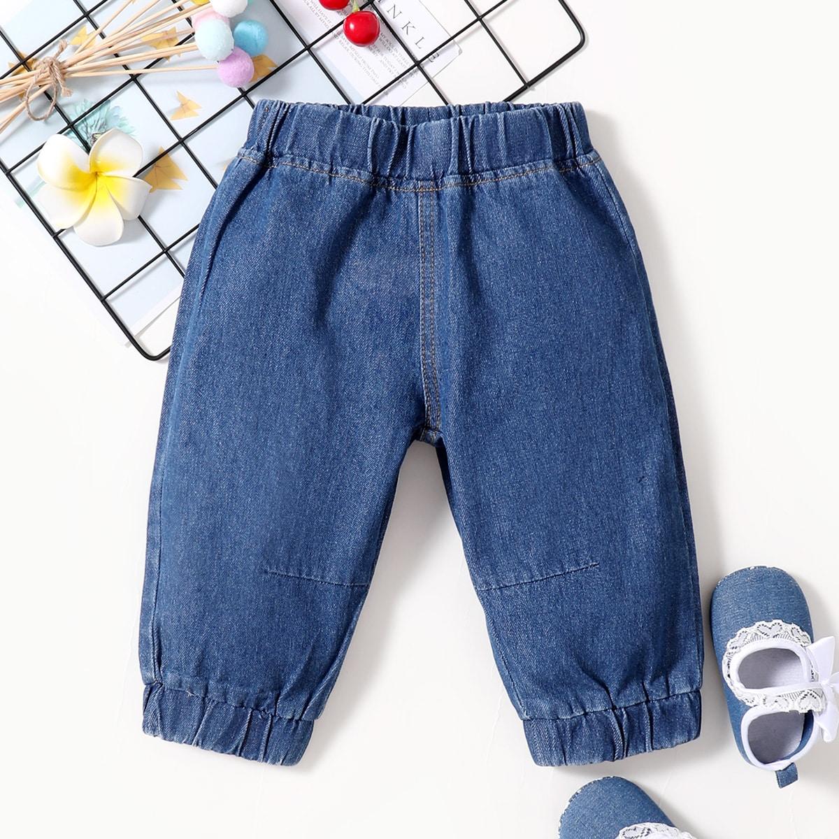 для мальчиков Зауженные джинсы от SHEIN