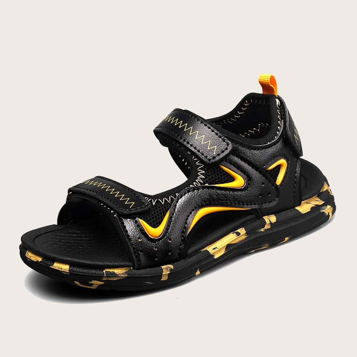Спортивные сандалии на липучке для мальчиков SheIn skshoes25210524062
