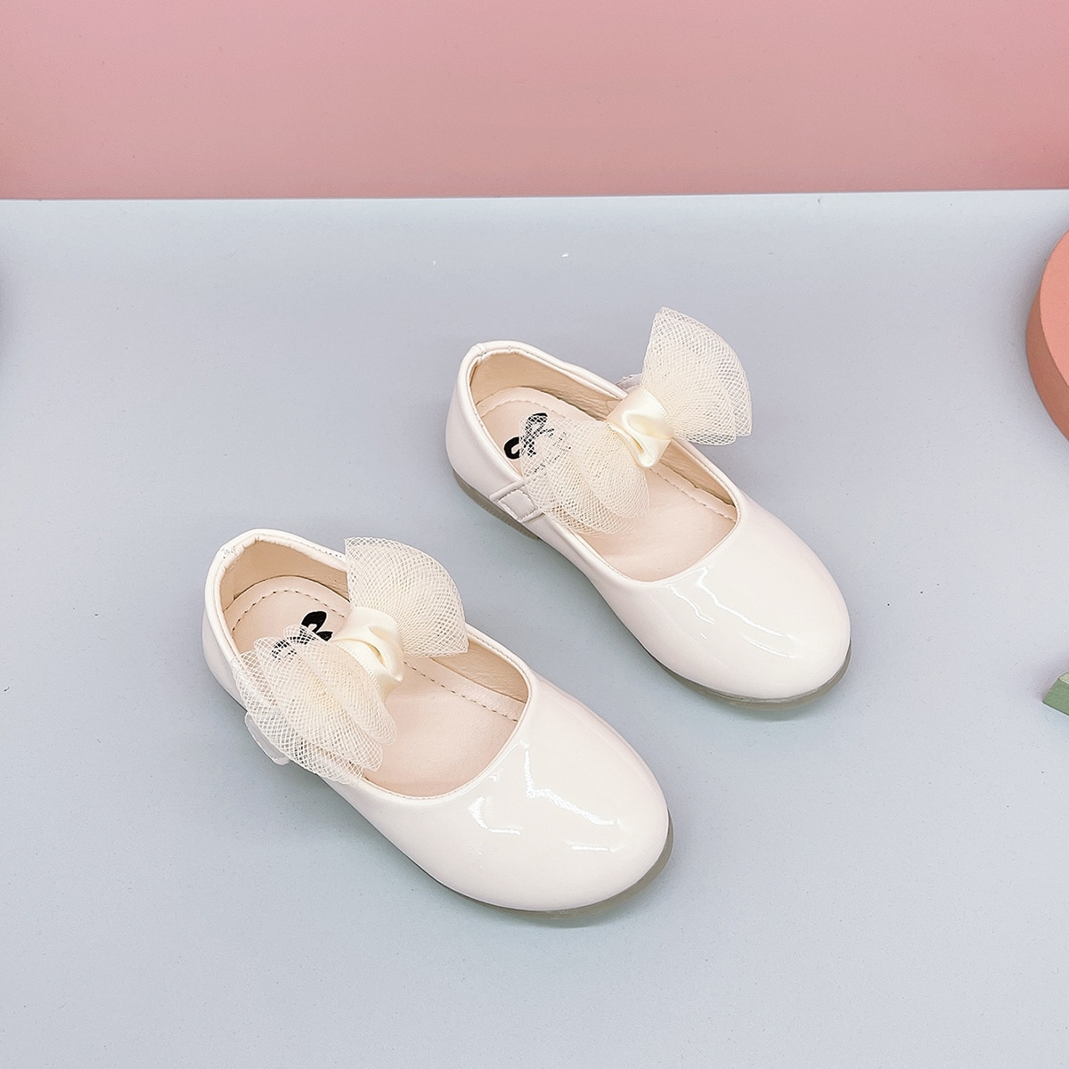 Туфли мэри джейн с бантом для девочек от SHEIN