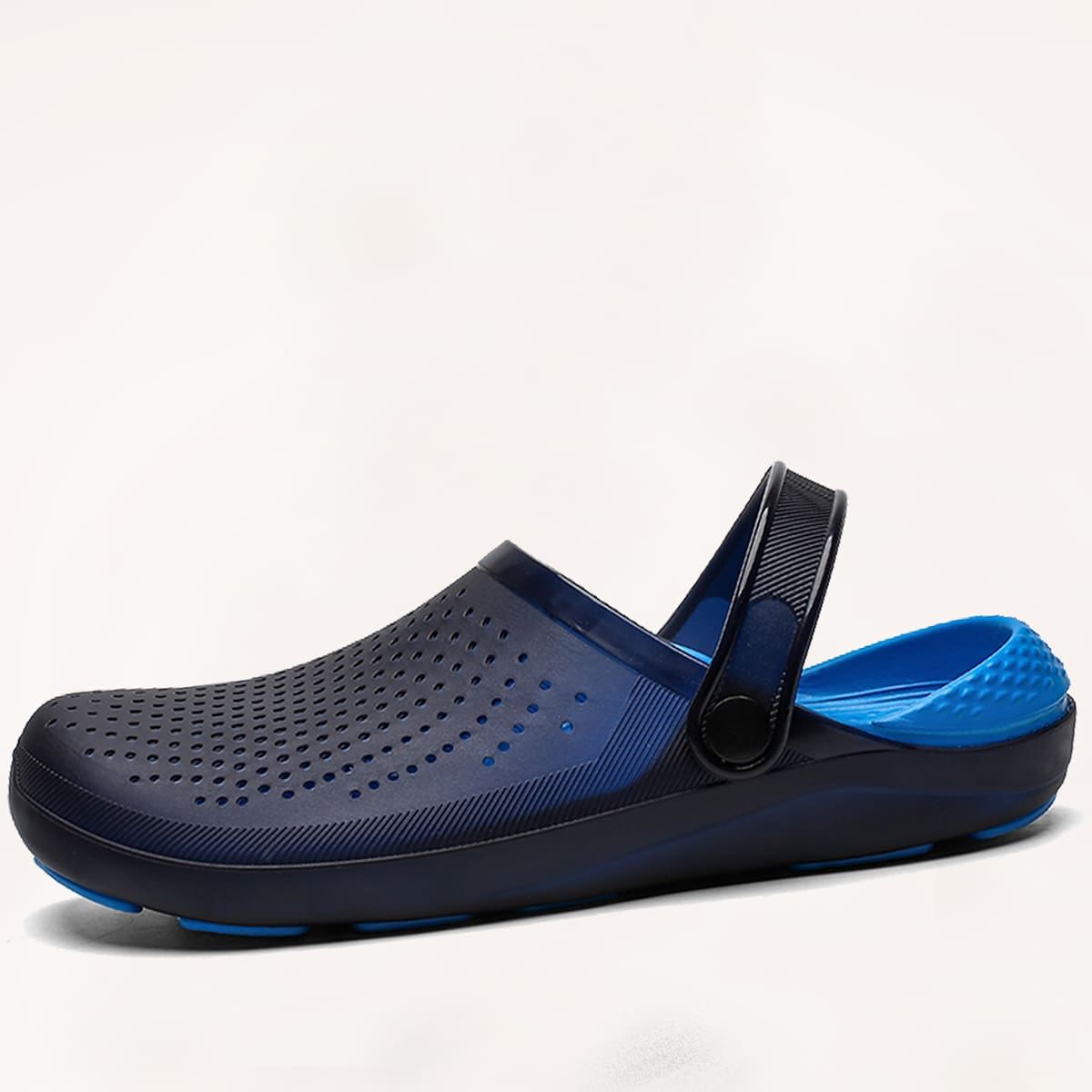 Men Two Tone Two Way Wear Vented Clogs