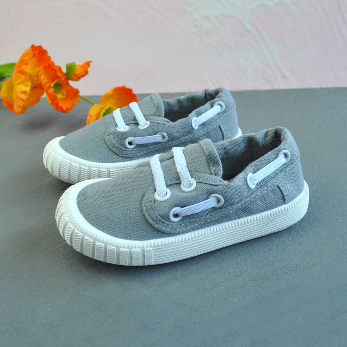Toddler Boys Lace-up Front Sneakers