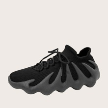 Guys Lace-up Decor Sneakers