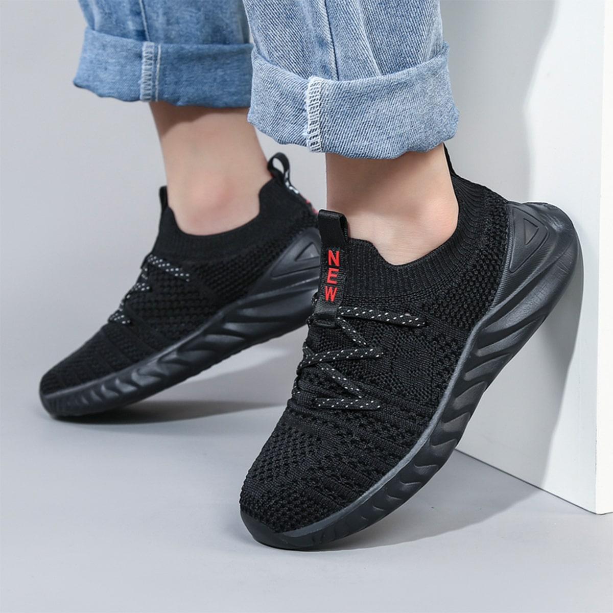 Кроссовки для мальчиков на шнуровке от SHEIN