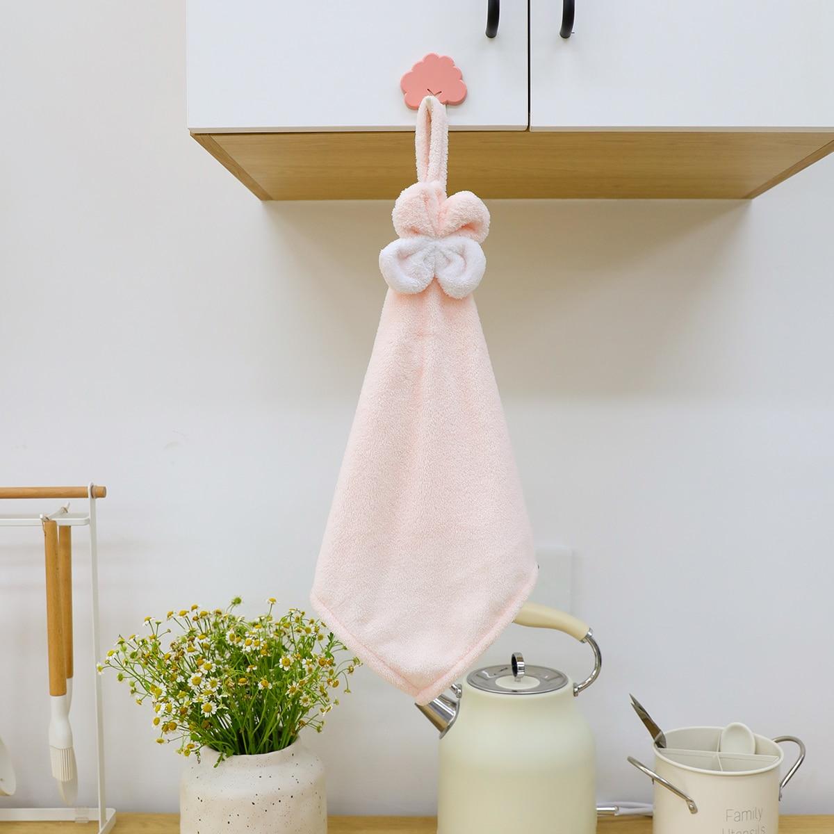 Flower Decor Hand Towel