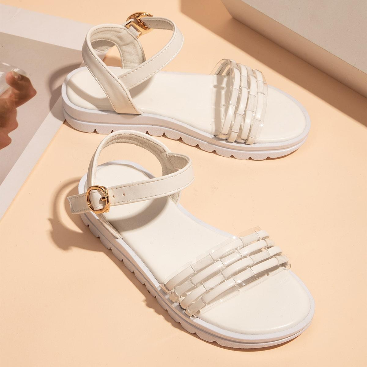 Минималистичные сандалии для девочек SheIn skshoes25210528059