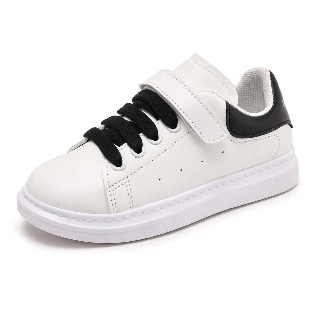 Двухцветная обувь для девочек от SHEIN