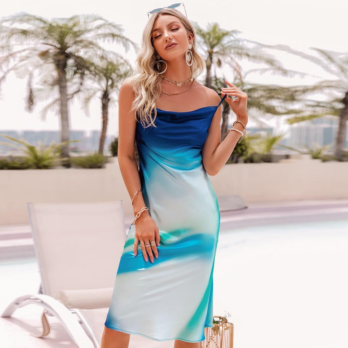 Платье на бретелях SheIn swdress31210529423