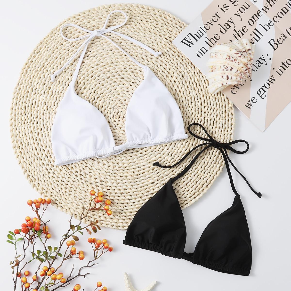 2pack Triangle Bikini Top