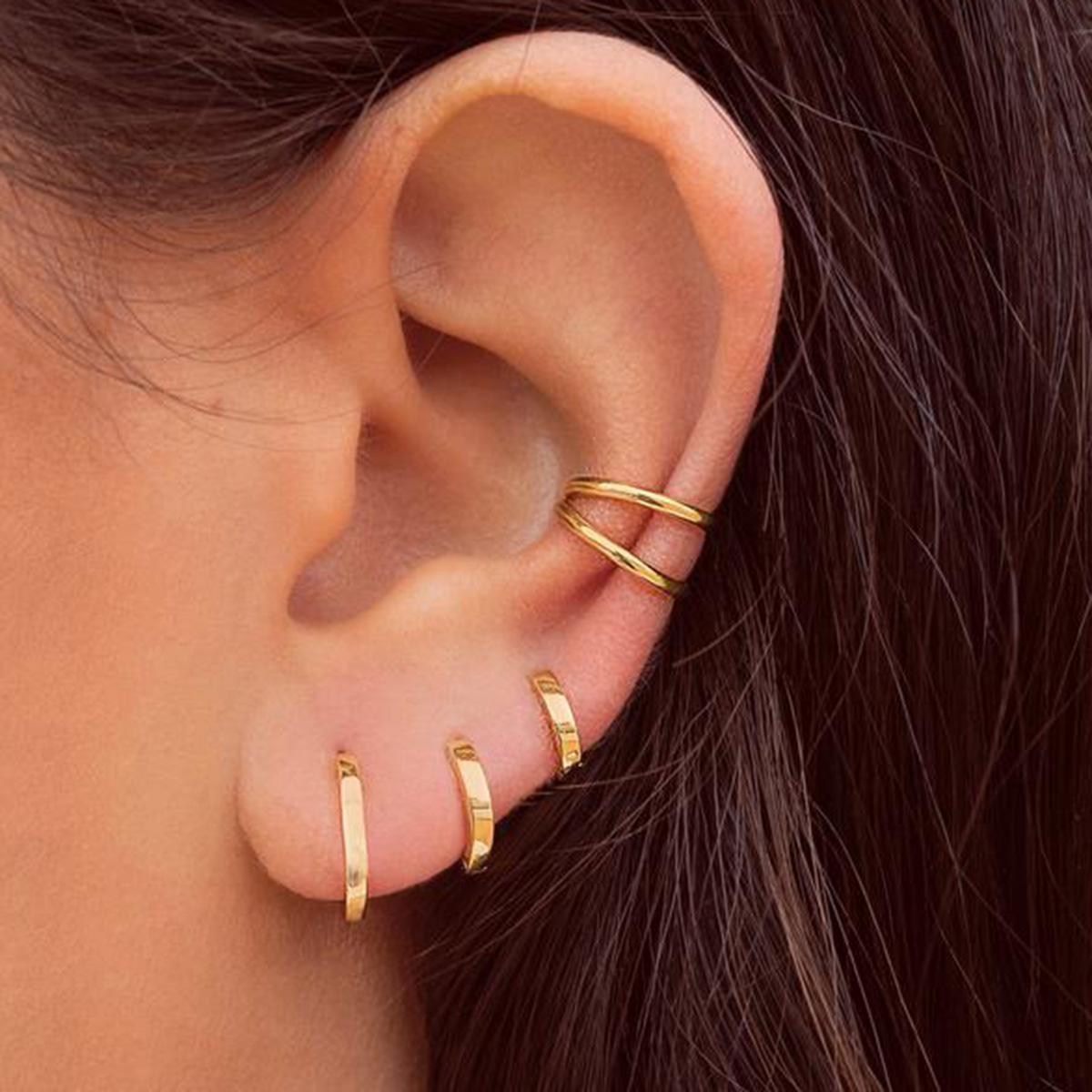 4pcs Minimalist Earring