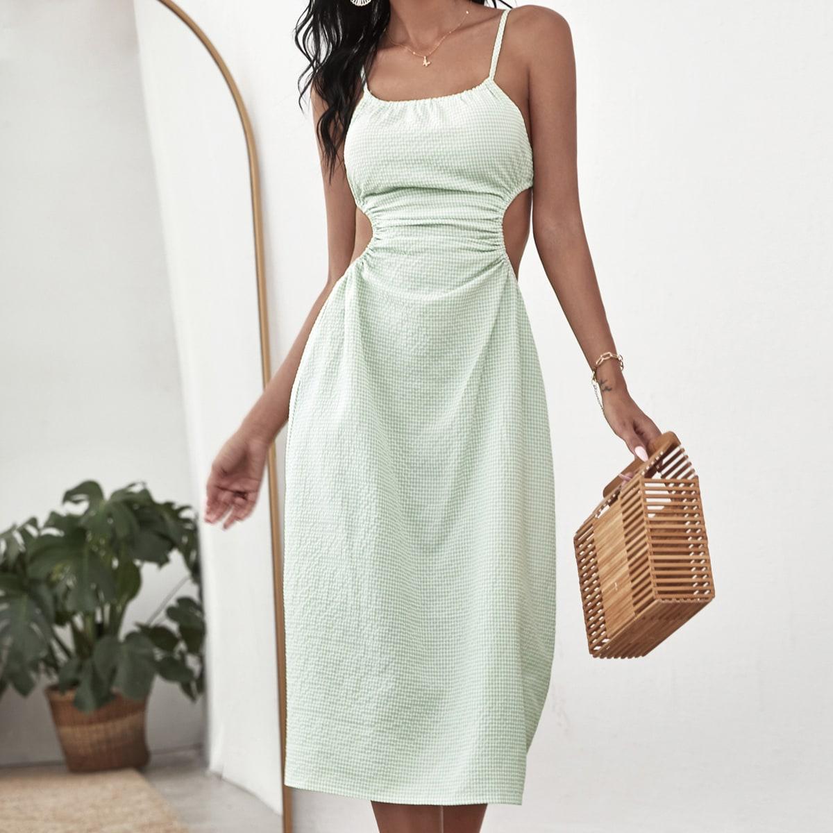 Платье на бретелях SheIn swdress25210519298