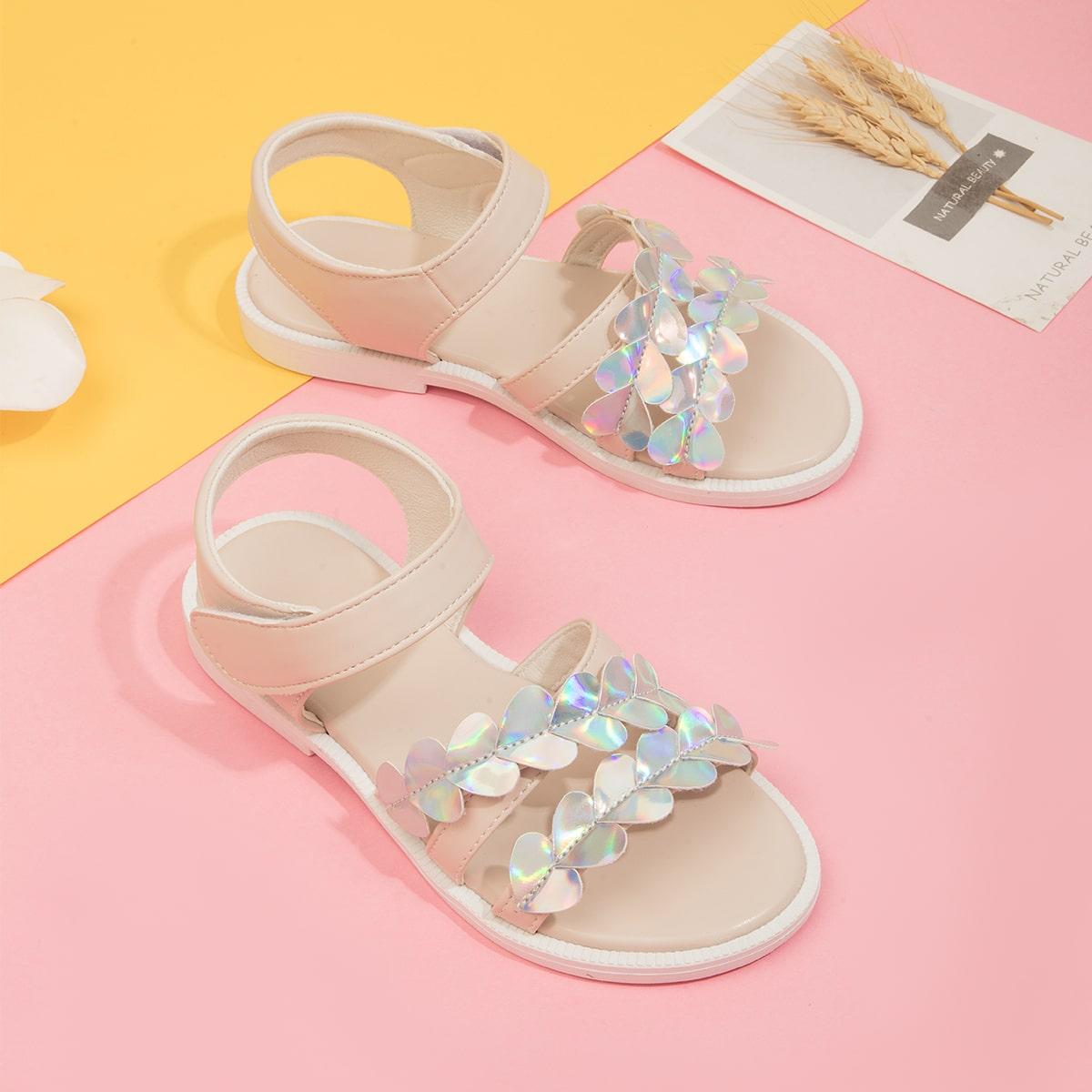 Одноцветный Детские сандалии SheIn skshoes25210601246