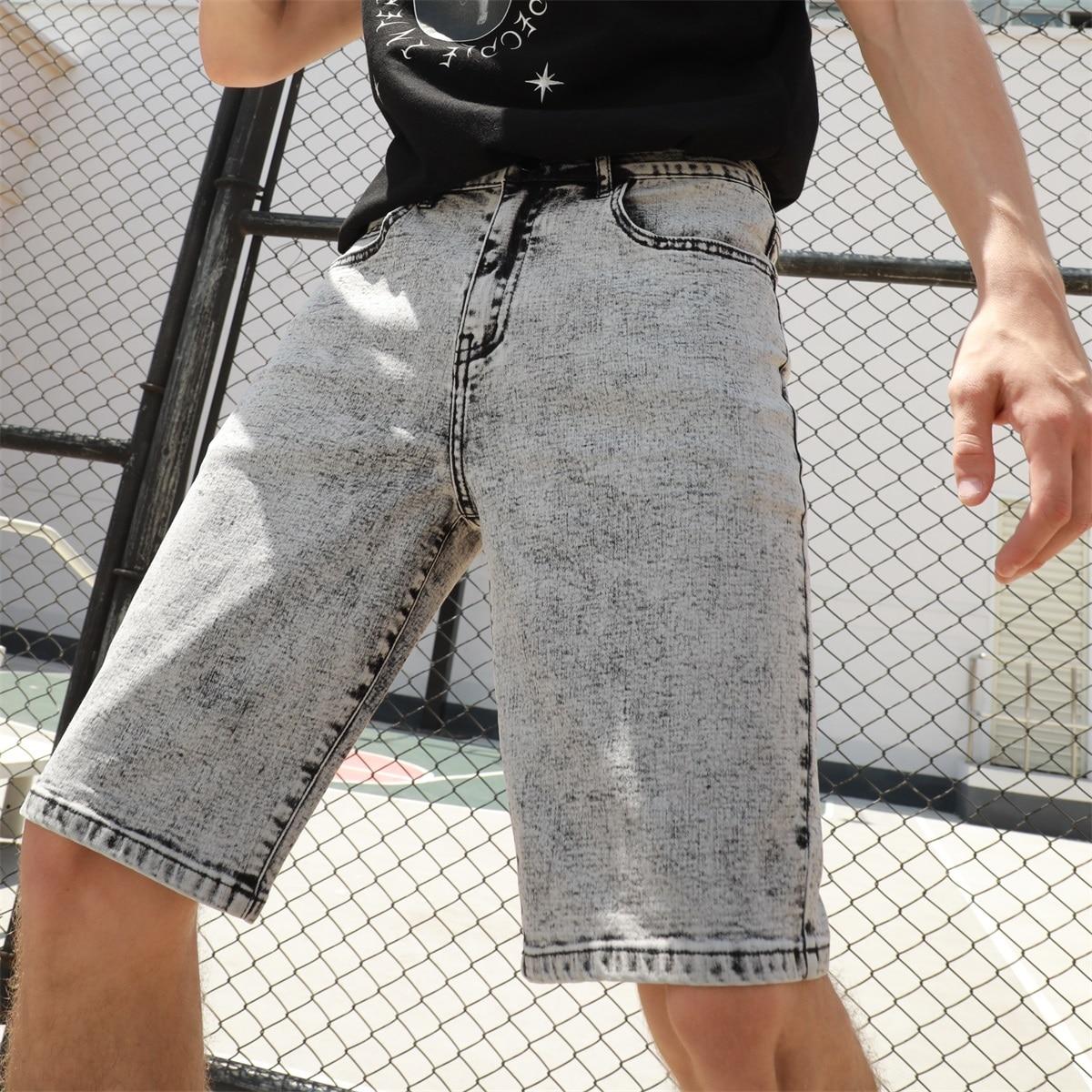 Мужской Джинсовые шорты-бермуды от SHEIN