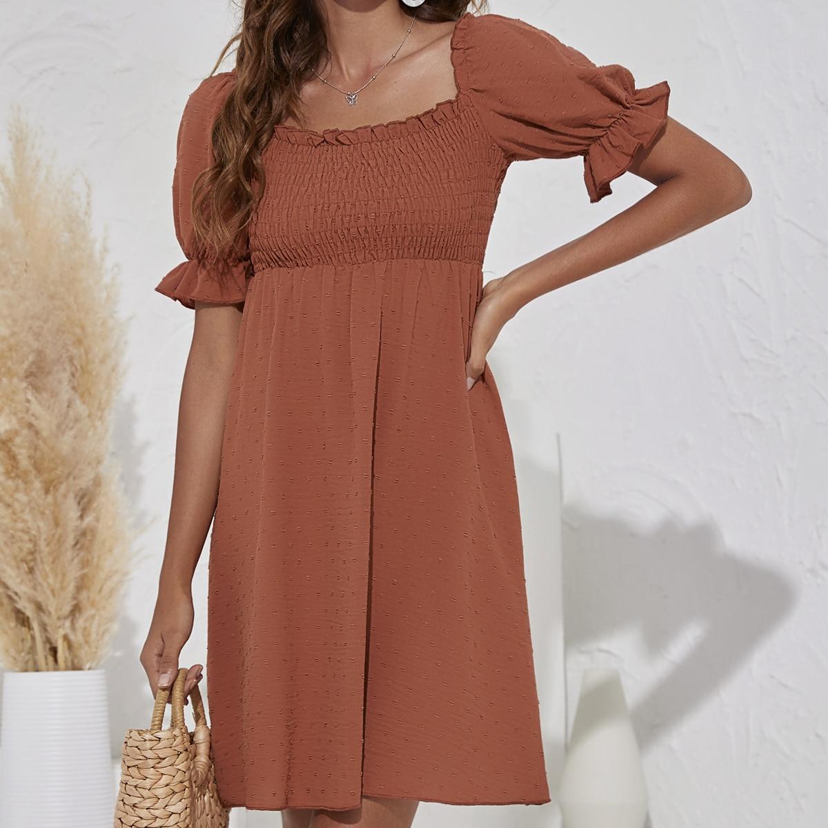 Платье в горошек SheIn swdress23210407940