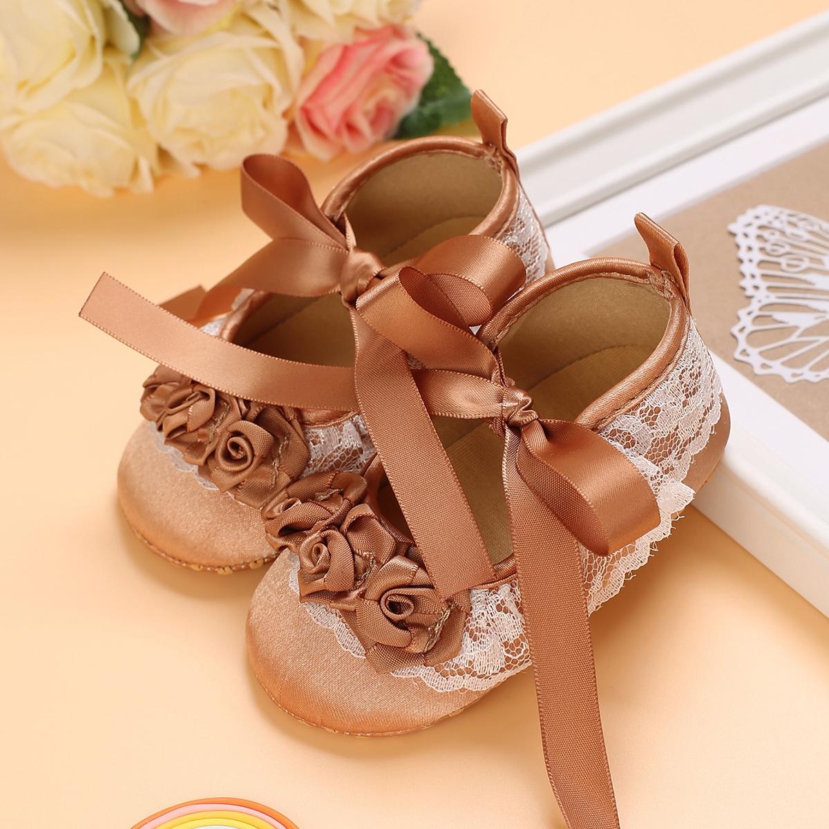 SHEIN Baby platte schoentjes Boog