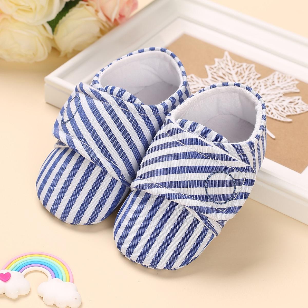 SHEIN Flats met klittenband en klittenband voor babyjongens