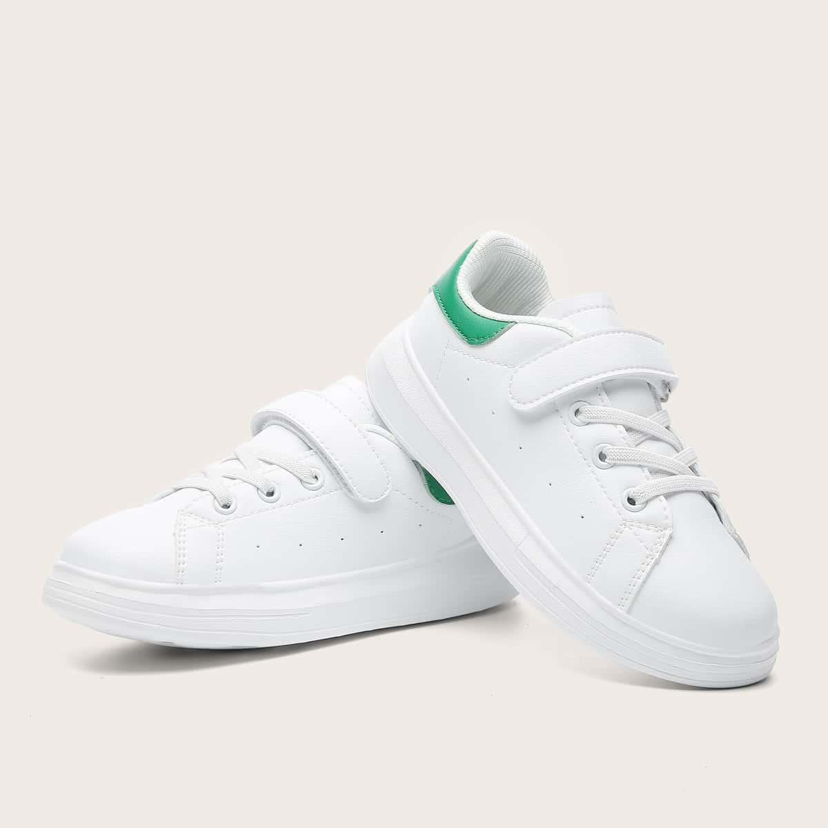 Кроссовки на липучке для девочек SheIn skshoes25210604576