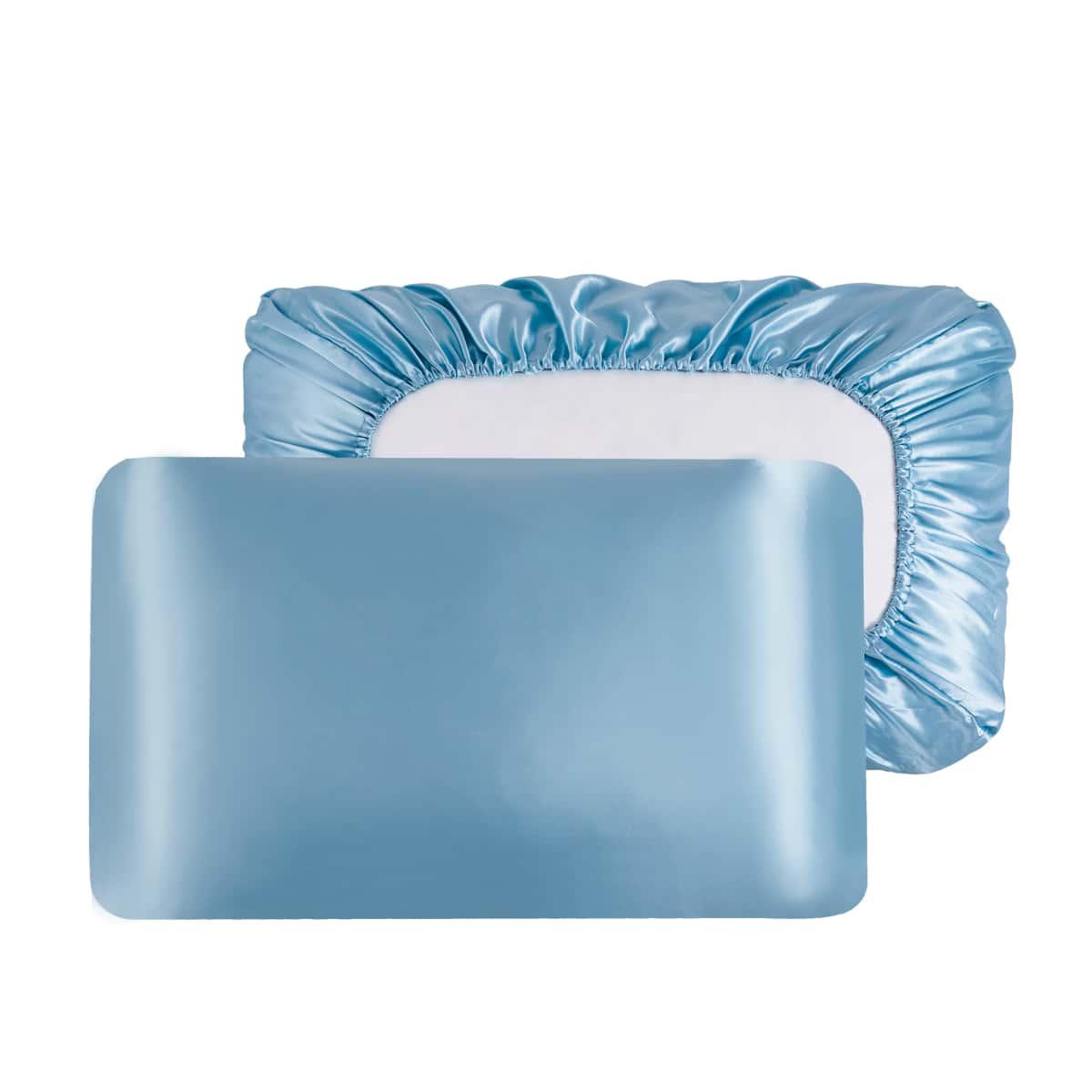 1Pair Satin Pillowcase Without Filler
