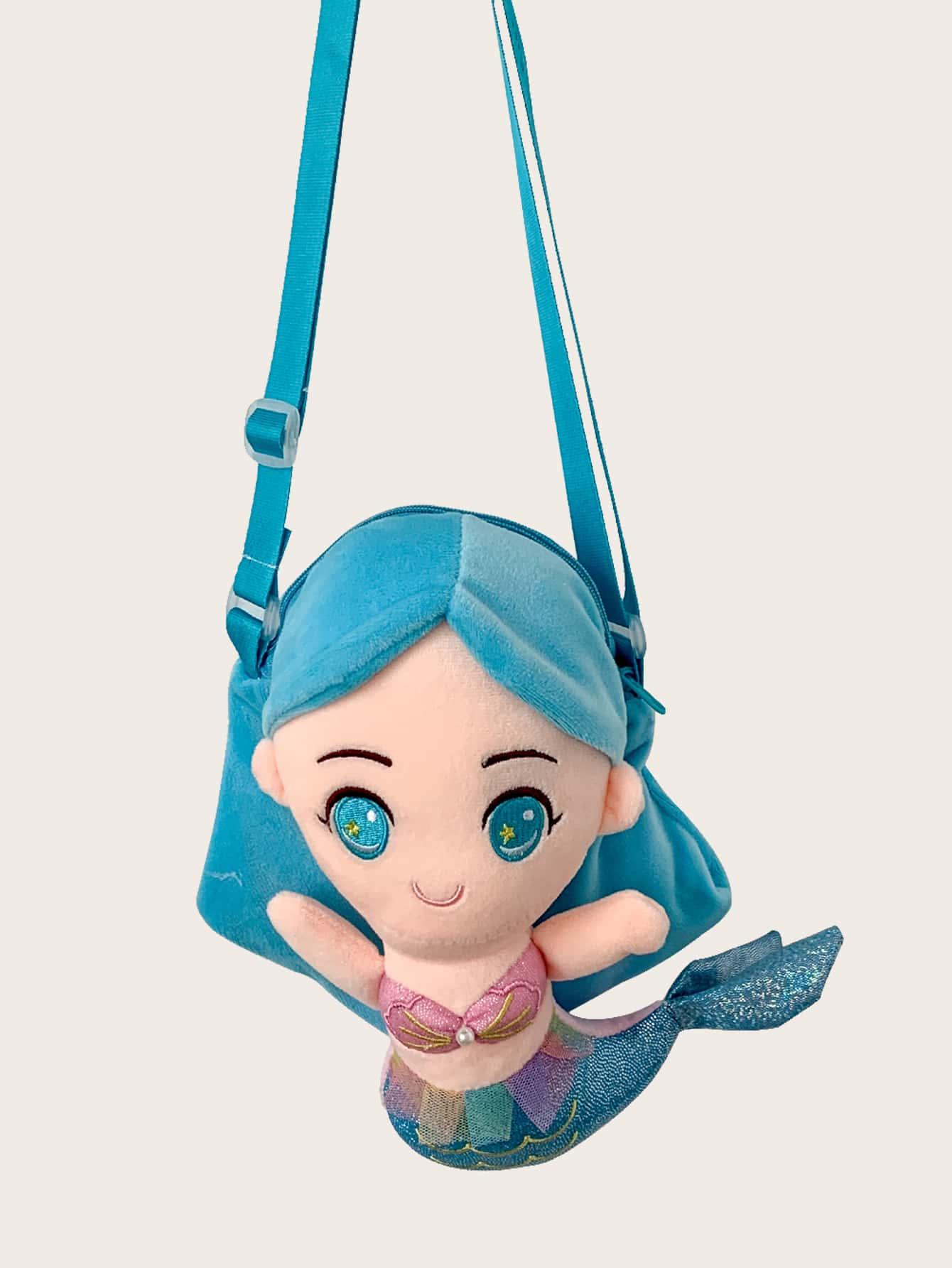 girls cartoon design crossbody bag