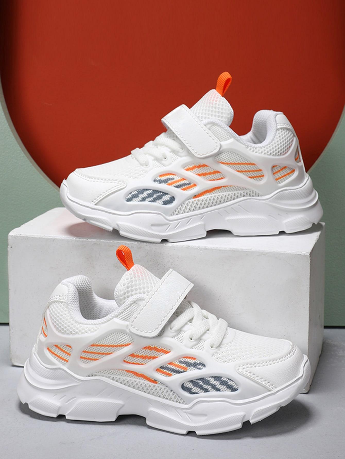Girls Velcro Strap Sneakers
