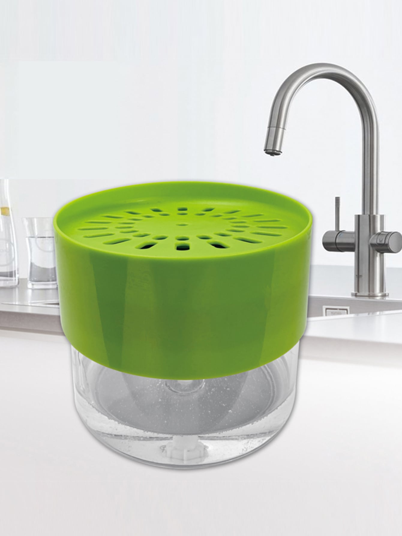 1Pc Dish Cleaning Soap Dispenser