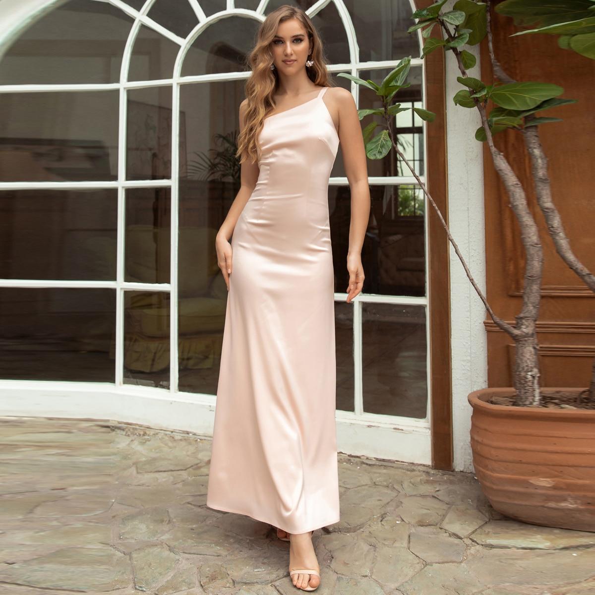 Платье на одно плечо SheIn swdress31210610773