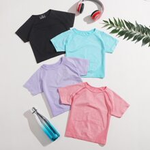 4 Pack Breathable Sports Tee