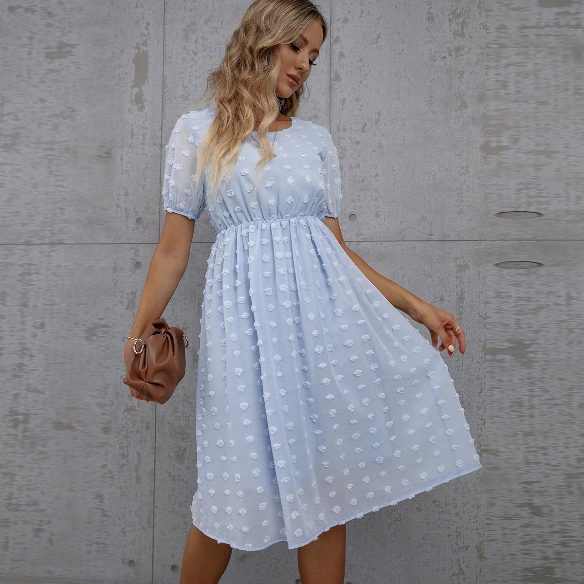 Платье в горошек SheIn swdress23210507944
