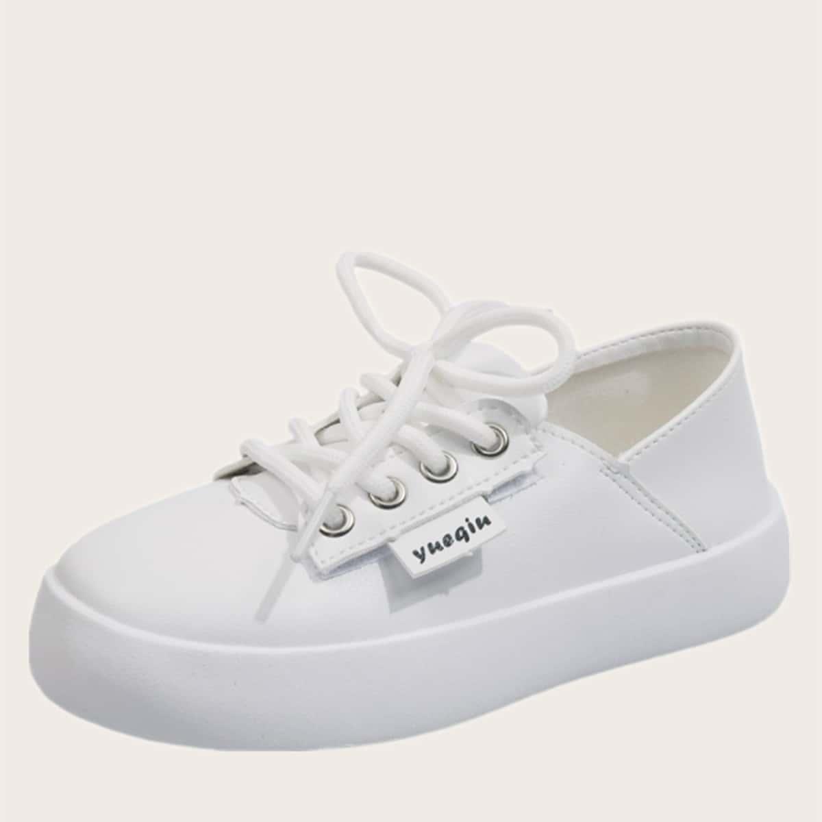 Минималистичная обувь на шнурке SheIn skshoes25210615214