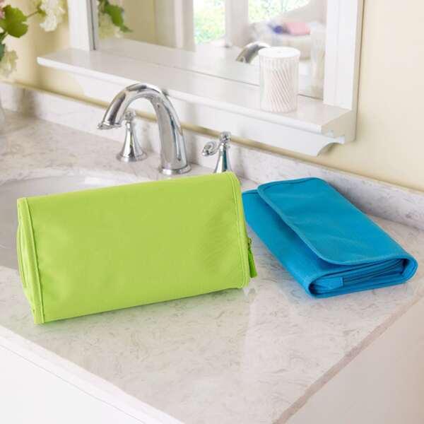 1шт Складная дорожная сумка для хранения случайного цвета, Многоцветный