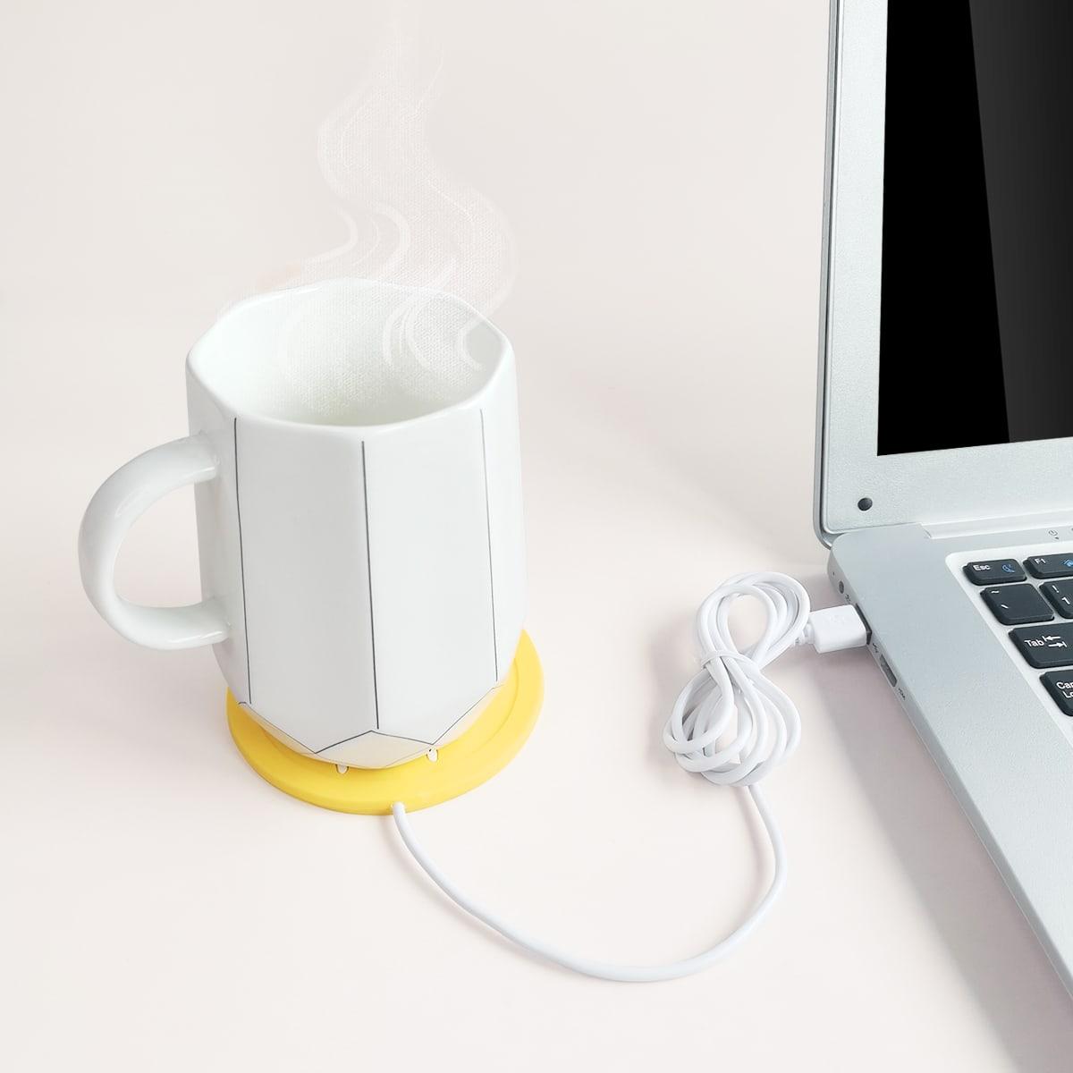 USB-мультипликационная нагревательная подставка