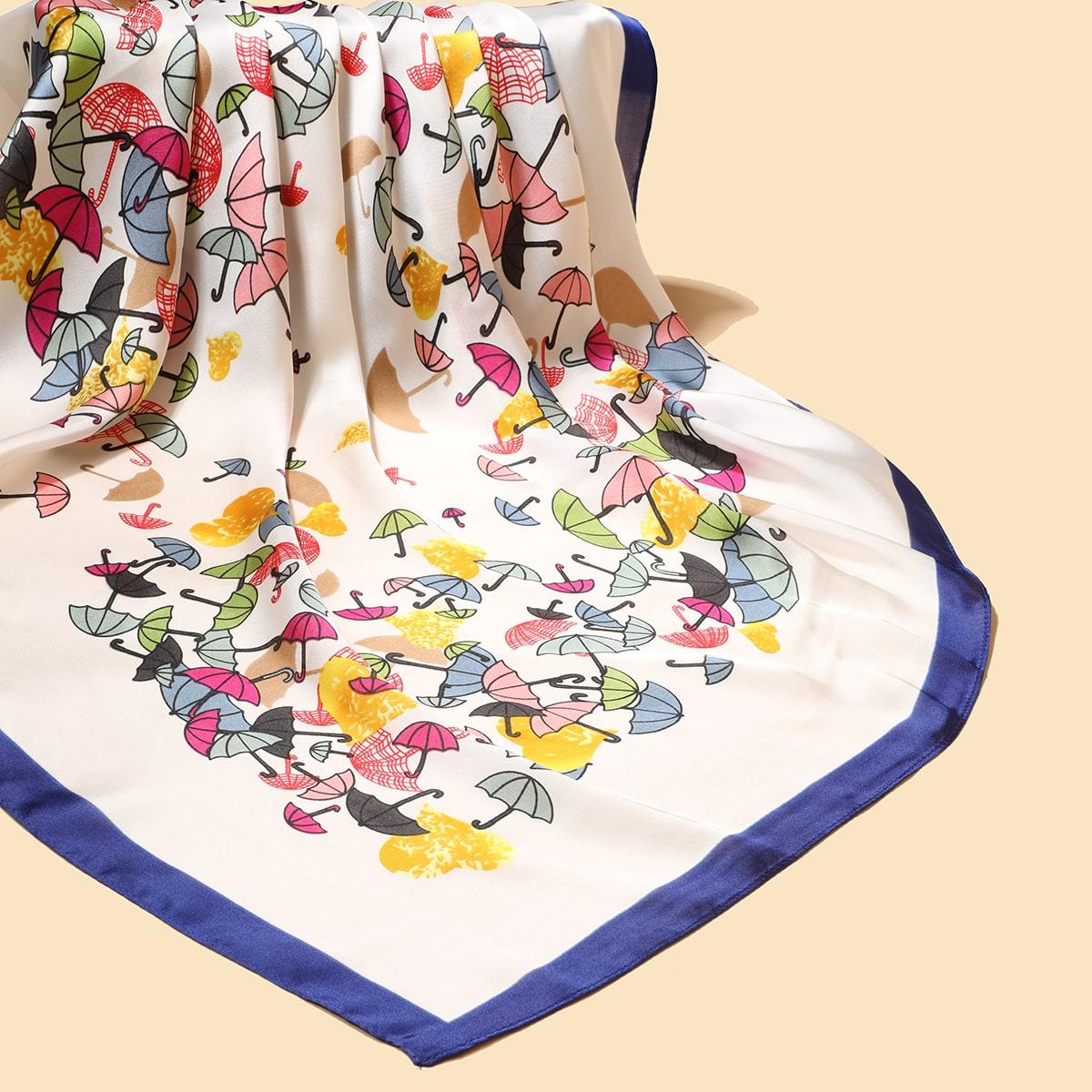 Зонт принтом Бандана от SHEIN