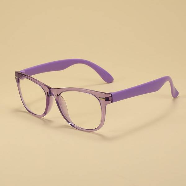 Toddler Girls Anti-Blue Light Eyeglasses, Purple