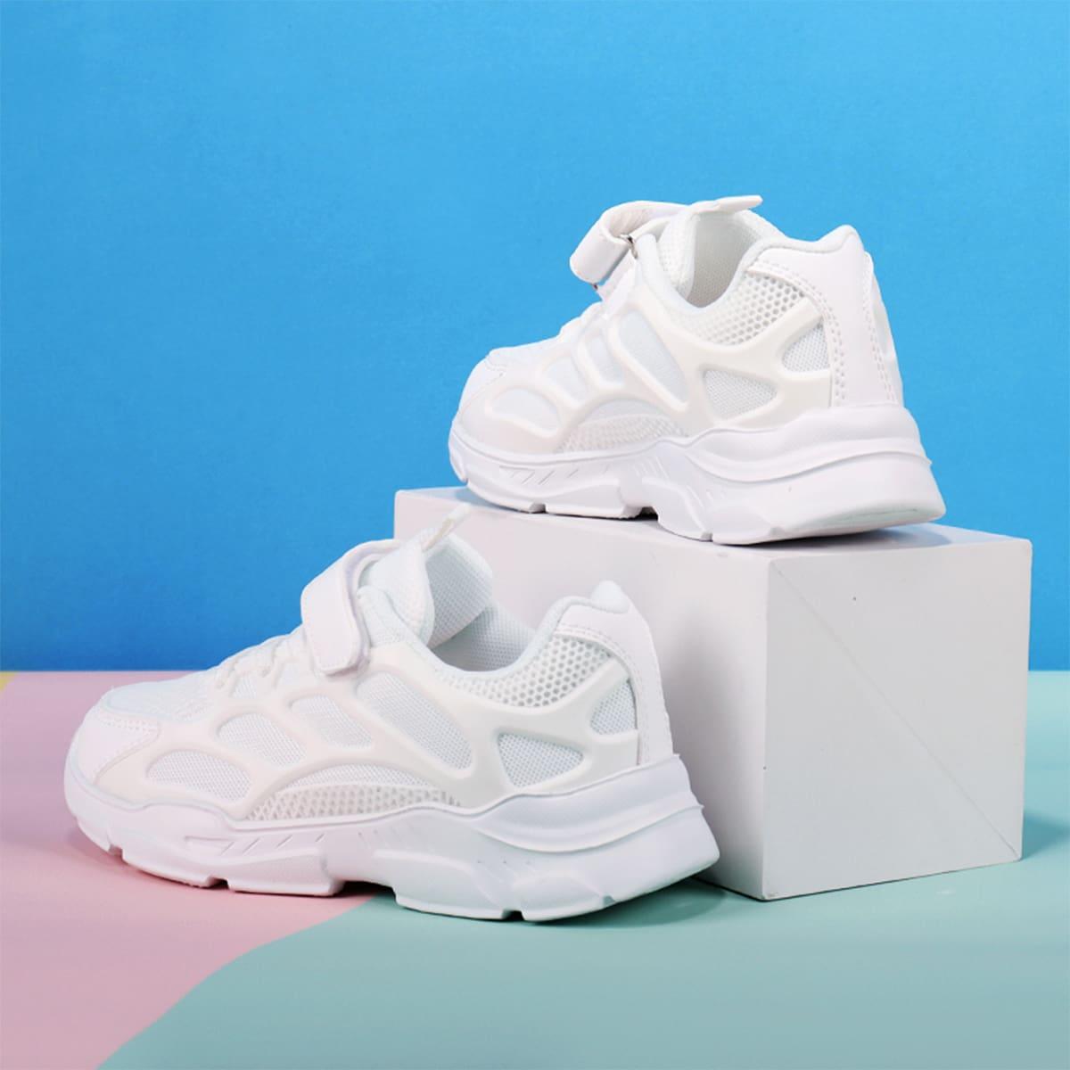 Кроссовки на липучке для девочек SheIn skshoes25210617160