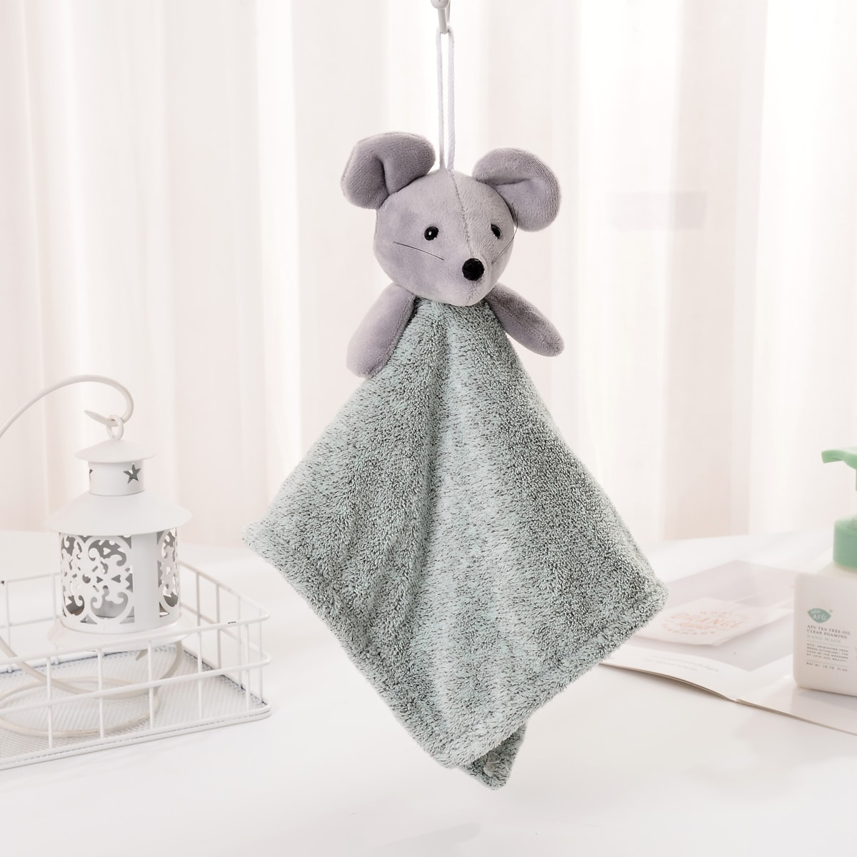 1Pc Mouse Hand Towel