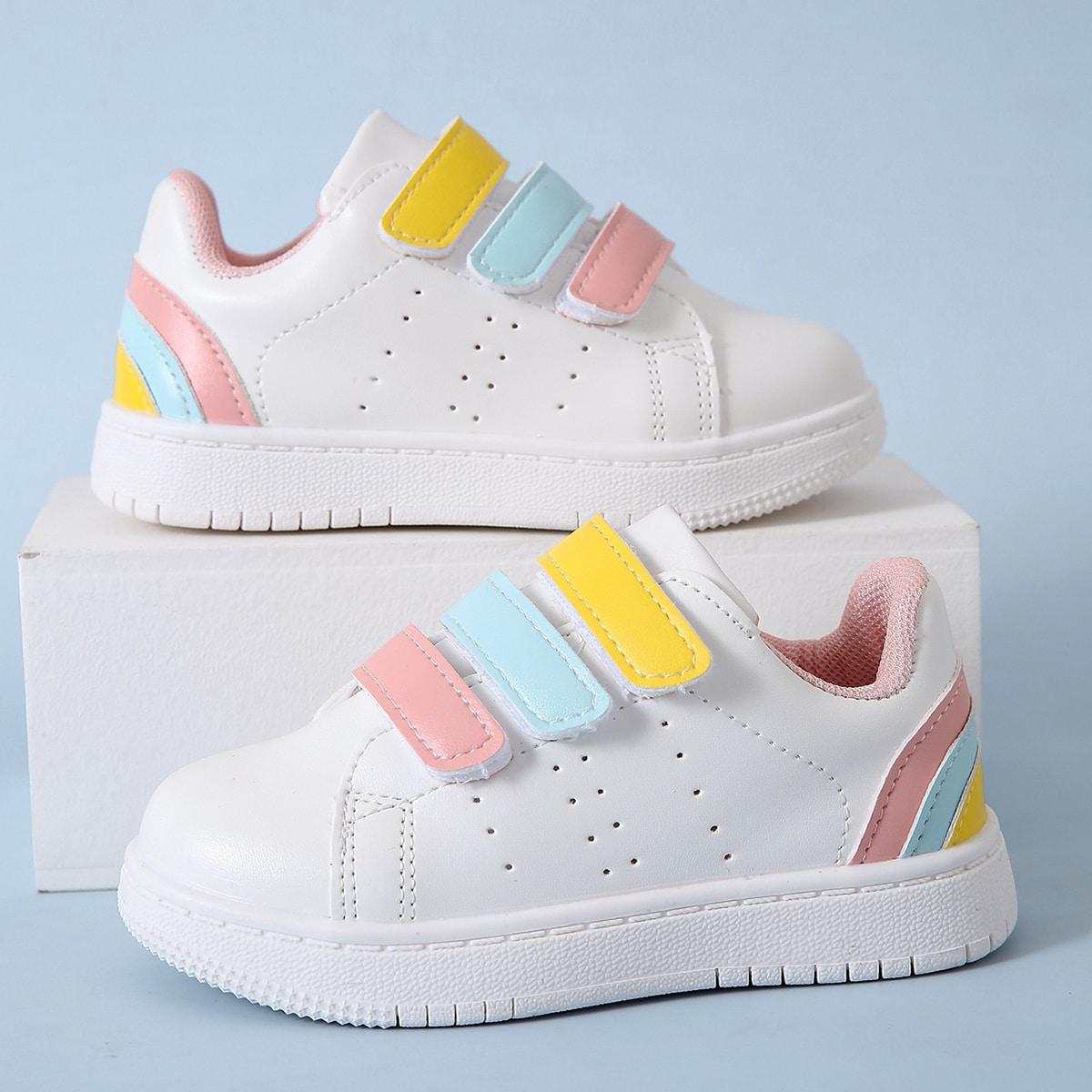 Обувь для скейтбординга на липучке для девочек от SHEIN
