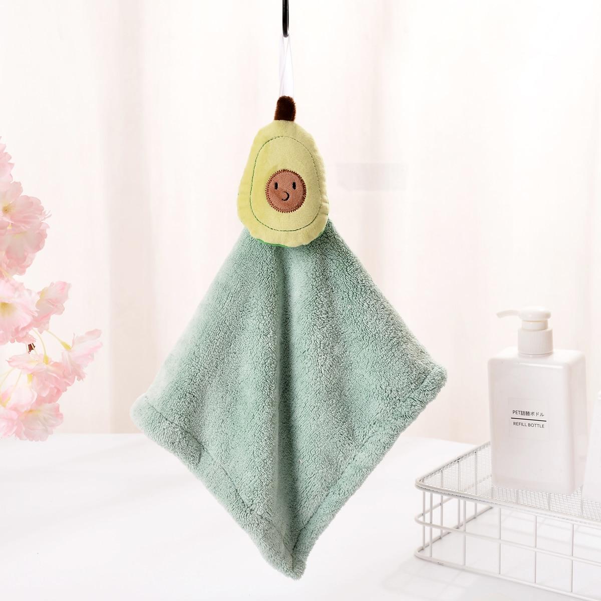 1Pc Avocado Hand Towel