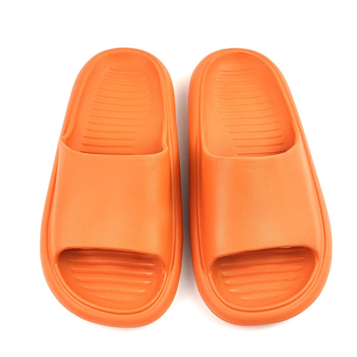 Тапочки минималистичный с открытым носком