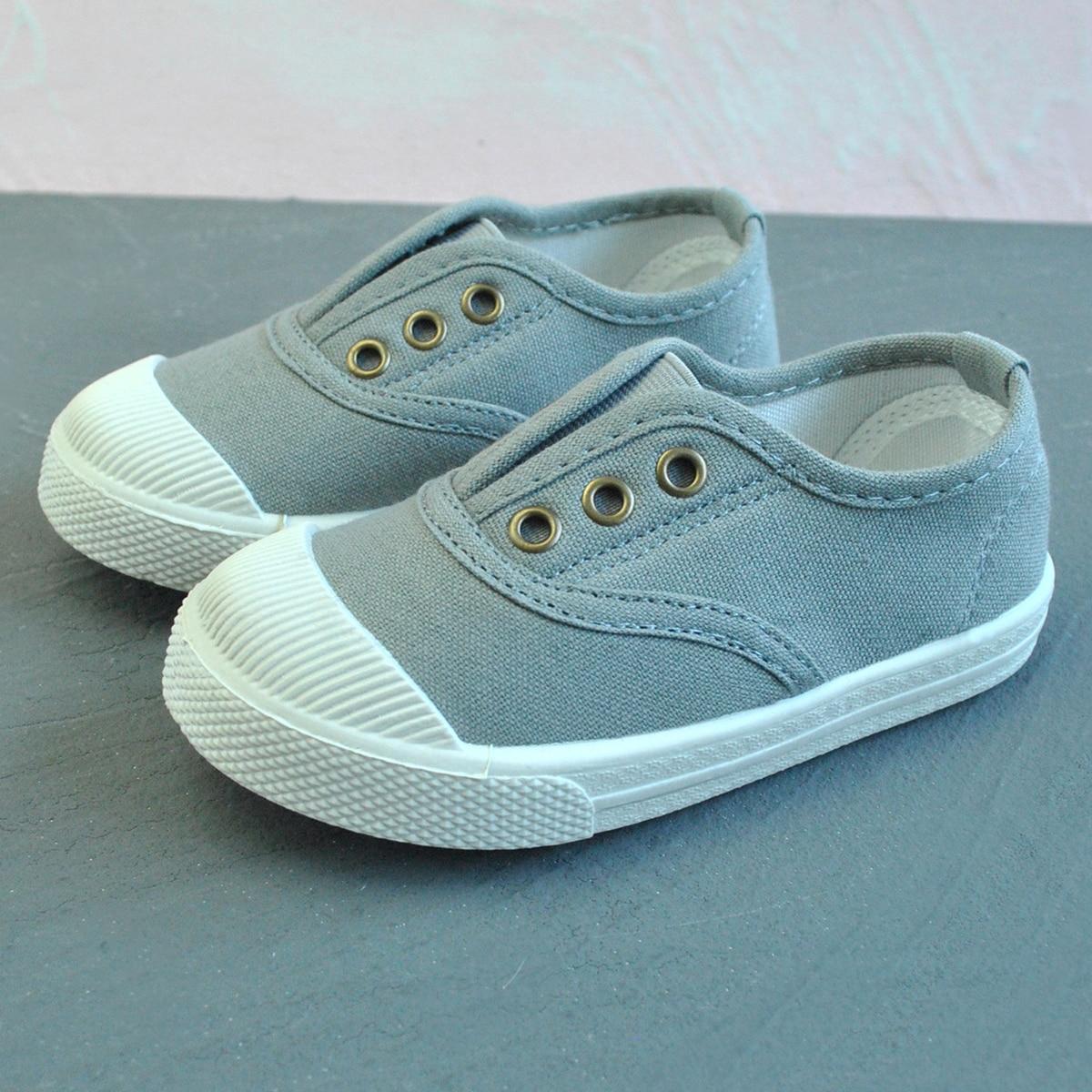 Холщовая обувь для мальчиков от SHEIN