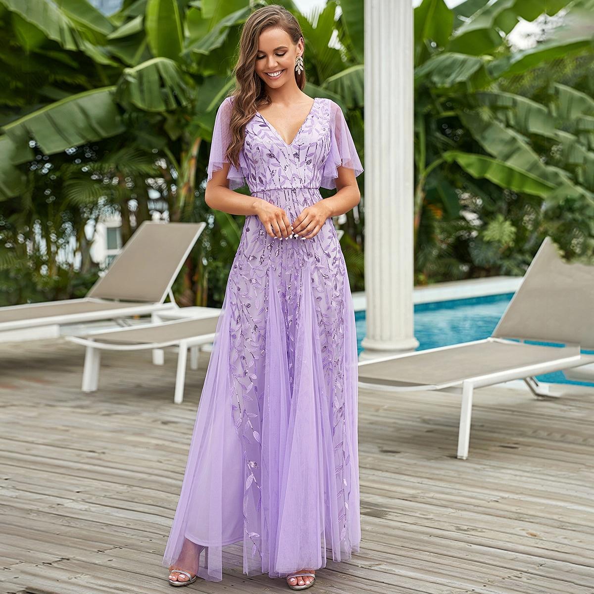 Платье макси SheIn sw2106223762118708