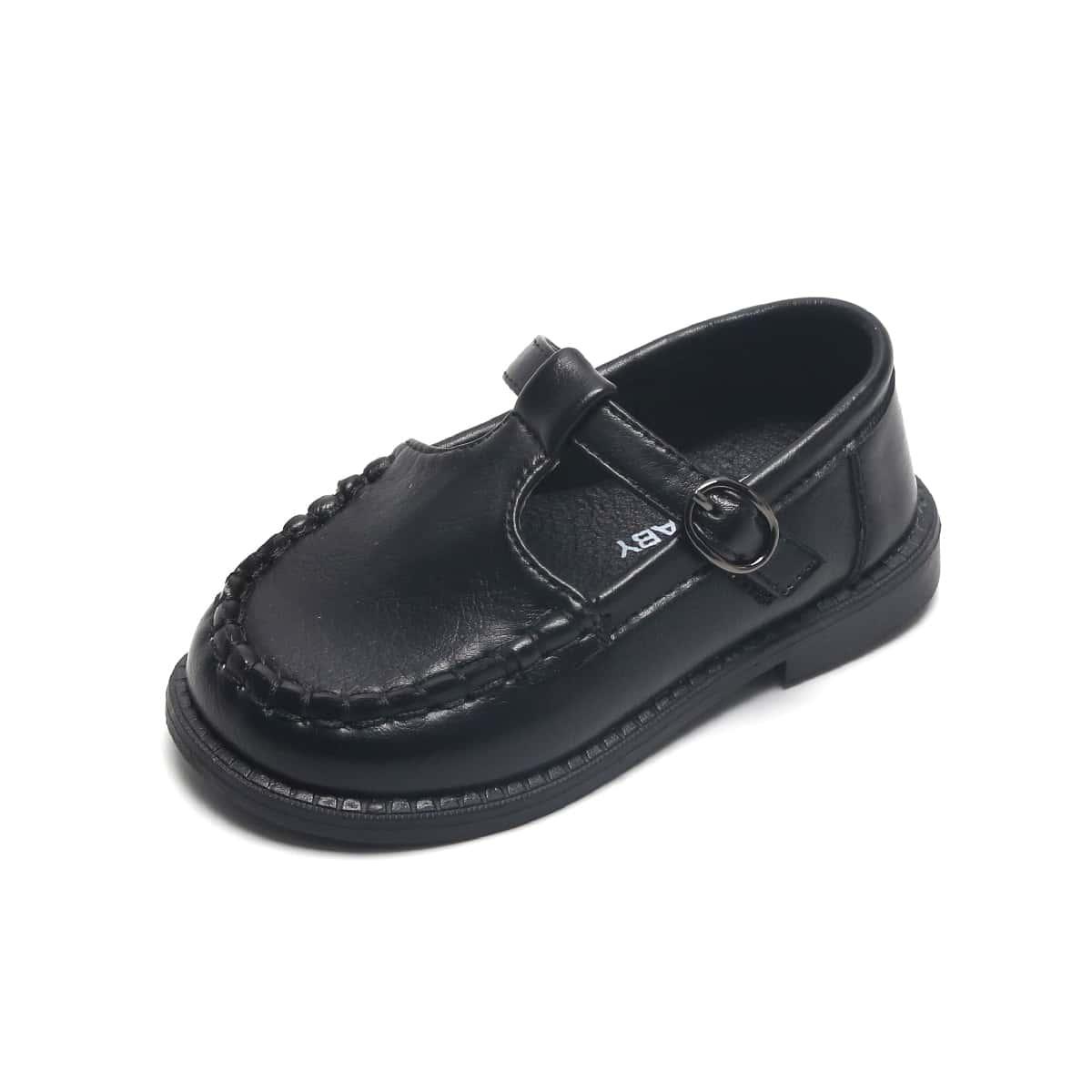 Туфли на плоской подошве с пряжкой для мальчиков от SHEIN
