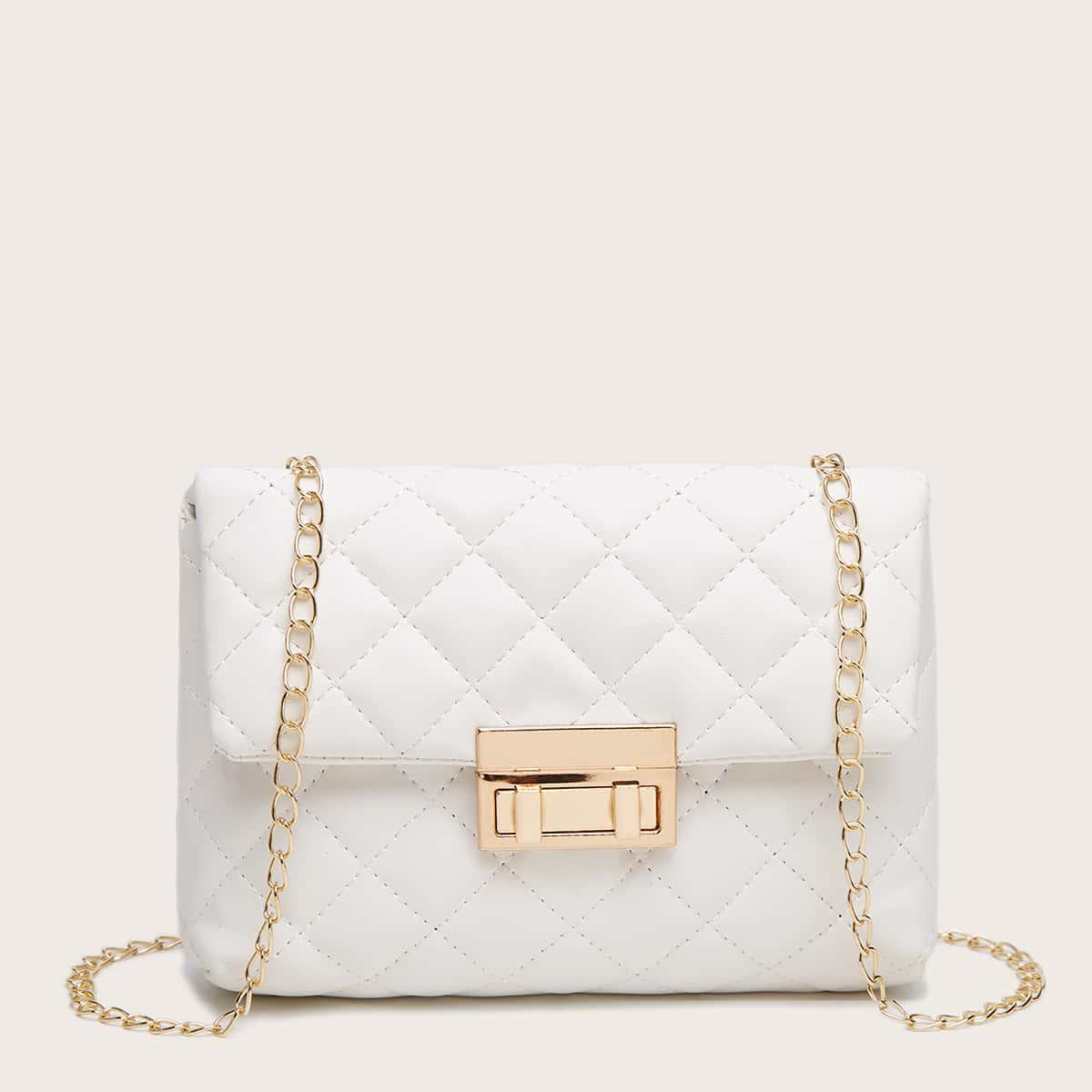 Цепочка стеганая Детские сумки через плечо SheIn skbag18201110748