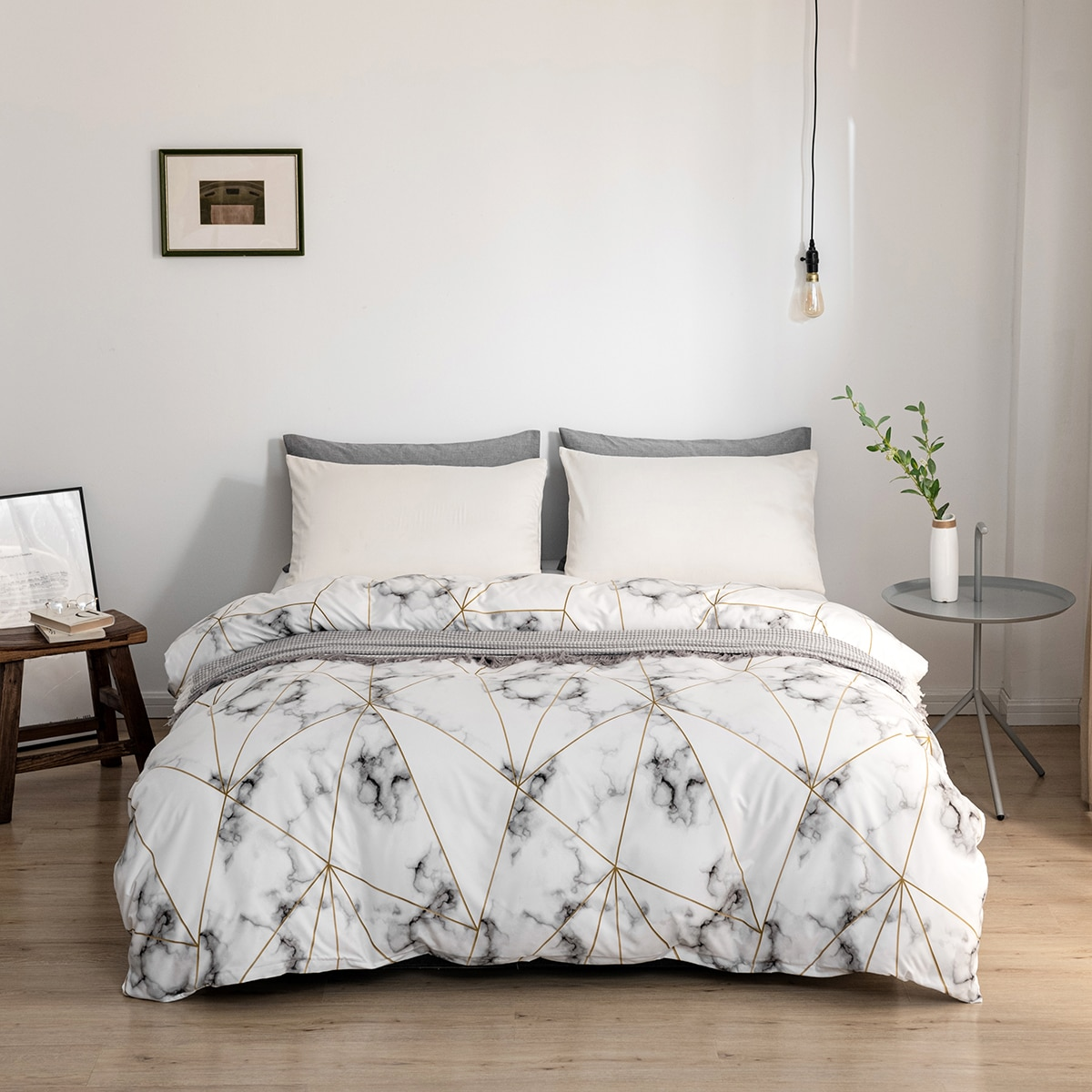 Marble Pattern Cover Without Filler, SHEIN  - buy with discount
